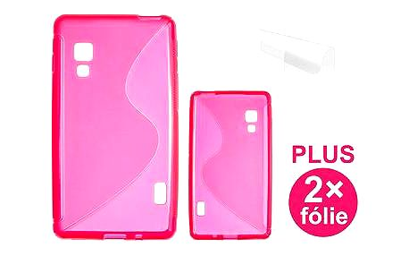 CONNECT IT S-Cover LG Optimus L5 II (E460) červené (CI-294)