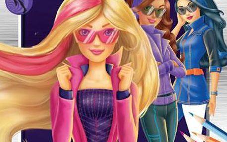Barbie Tajná agentka - Omalovánky se samolepkami