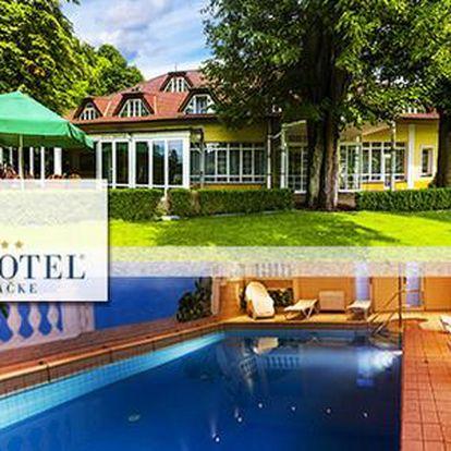 Pobyt v komfortním hotelu rodinného typu se službami na vysoké úrovni v PARKHOTEL **** na Baračke