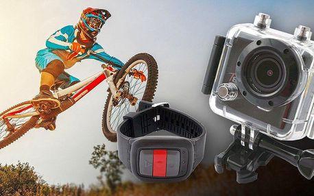 Kompaktní kamera pro sportovní záběry