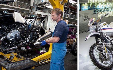 Celodenní zájezd do výrobny motorek BMW v Berlíně včetně vstupenky. Nezapomenutelný zážitek!!