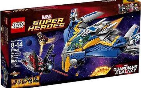 LEGO Super Heroes 76021 Záchrana vesmírné lodi Milano