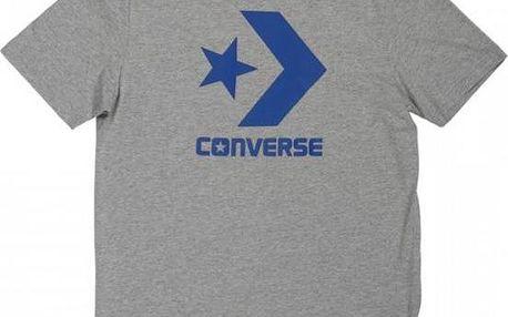 Pánské tričko Converse CONS CORE STAR CHEVRO šedé l