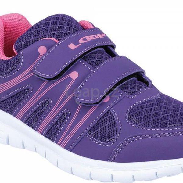 Dětská sportovní boty LOAP CLEAM fialové 28
