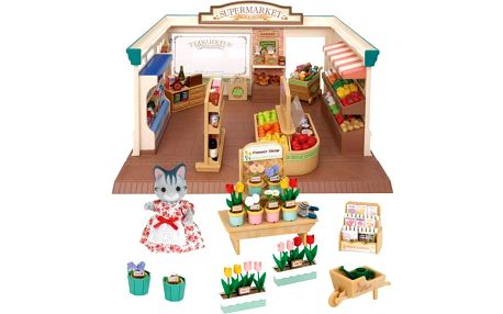 Sylvanian Families Dárkový set - Supermarket 3638