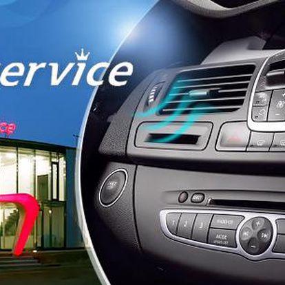 Kompletní kontrola a plnění klimatizace osobního vozu s možností dezinfekce v Karl service!