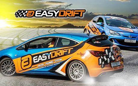 Driftování s EASYDRIFT! Revoluční adrenalinová jízda v driftovacím speciálu Opel Astra nebo Renault Megane