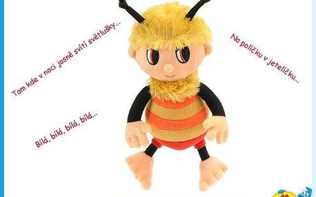 Oblíbený čmelák z večerníčku Příběhy včelích medvídků zpívá známé písničky