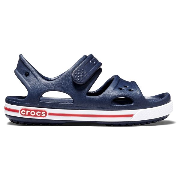 Crocs Crocband II Sandal - Navy/White, C6 (22-23)4