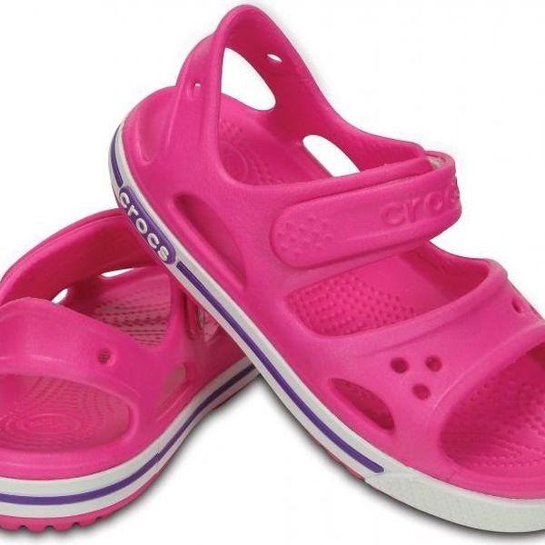 Crocs Crocband II Sandal Neon Magenta/Neon Purple, C10 (27-28)5
