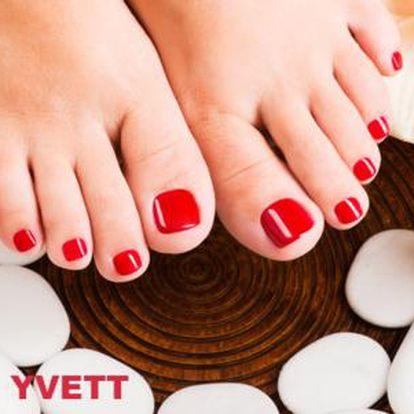 65% sleva na wellness pedikúru v salonu Yvett