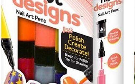 Kreativní nehtová sada Hot designs. Vytvořte si krásné nehty doma.
