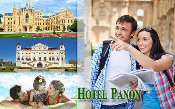 Pobyt v Hotelu Panon *** pro 2 osoby s polopenzí a vstupem na koupaliště