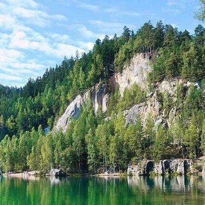 Léto i podzim na Náchodsku: Polopenze i bazén
