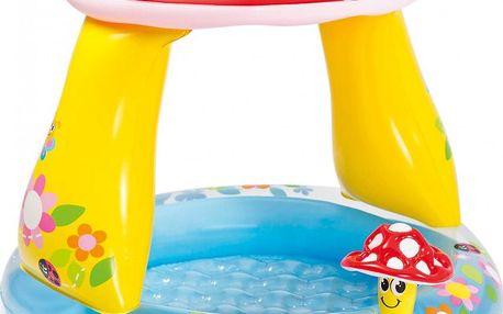 Nafukovací dětský bazének Intex s ochrannou stříškou proti slunci