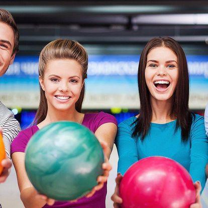 Hodina skvělého bowlingu a 4 bruschetty