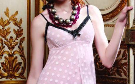 Košilka 55-2168 - Pleasure State Barva: růžovo-černá, Velikost: S