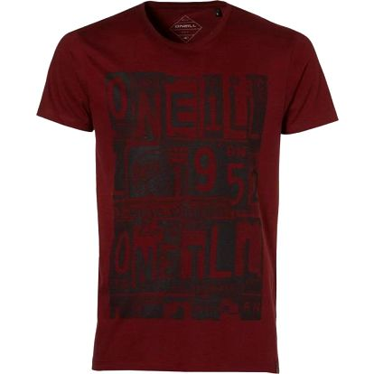 O'Neill LM Licence To Chill S/SLV Brick Red S