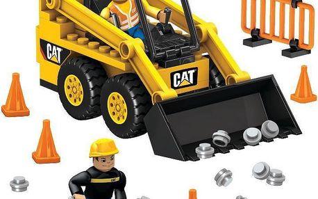 Stavebnice Mega Blocks Micro - CAT - Stavební stroje - Bobcat
