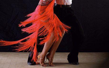 Taneční permanentka na salsu, bachatu a zouk