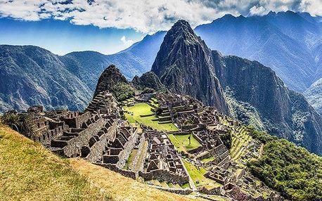 Záloha na 13denní last minute zájezd do Peru a Bolívie pro 1 osobu