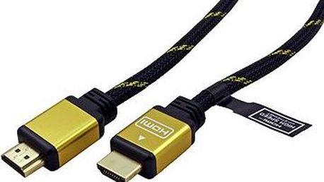 ROLINE Gold HDMI s Ethernetem - propojovací 7.5m