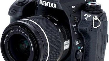 PENTAX K-3 II černý + DA 18-55WR