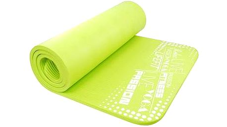 Podložka Lifefit Yoga Mat Exkluziv světle zelená