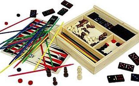 Dřevěné stolní hry