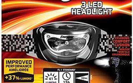 Energizer Headlight 3LED/ 41 lumenů 3AAA