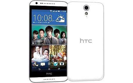HTC Desire 620 (A31) Gloss White / Light Grey Trim
