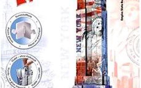 3D Puzzle - Empire State Building, vlajková edice