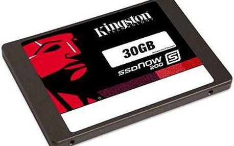Kingston SSD 30GB SSDNow S200