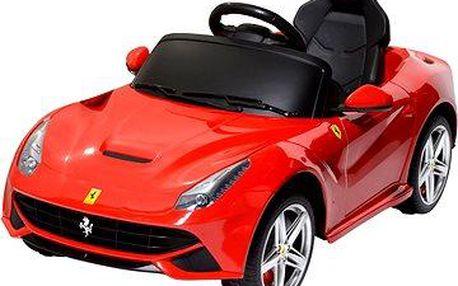Elektrické auto Ferrari červené