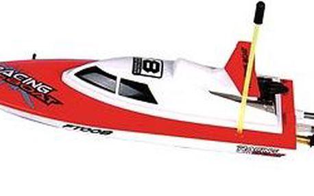RC loď 280 červená