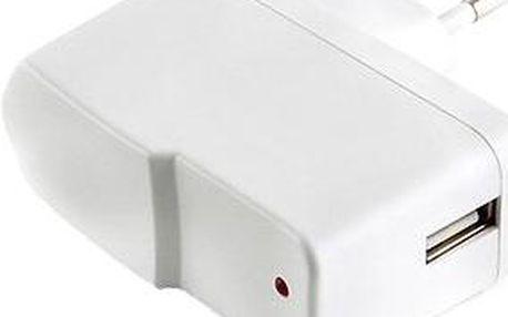 Gembird USB 230V bílá