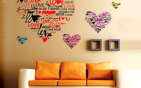 Srdce Love 50 x 70 cm