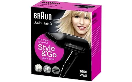 BRAUN Hairdryer HD350