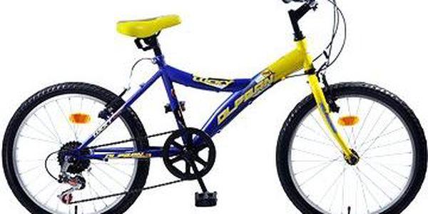 Olpran MTB Lucky žluto/modré (8595243813552)