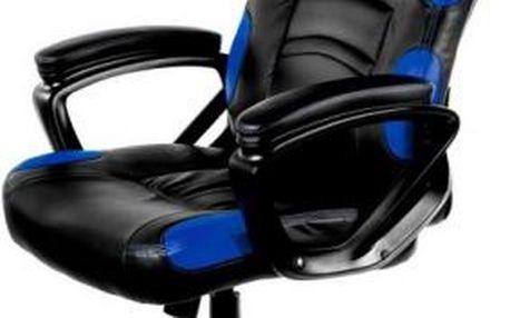 Herní židle Arozzi ENZO (ENZO-BL) černá/modrá