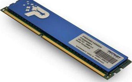 Patriot 4GB DDR3 1333MHz CL9 Signature Line s chladičem