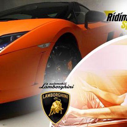 Řízení nejoblíbenějšího Lamborghini Gallardo LP560–4: výkon 560 koňských sil, max. rychlost 330 km/h!