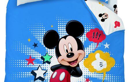 CTI povlečení Mickey Star 140x200,70x90-NOVINKA 2016