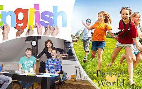 Letní týdenní tábor s angličtinou pro děti od 6 do 15 let i dospělé od 15 do 60 let v Plzni! Termíny: červenec, srpen.