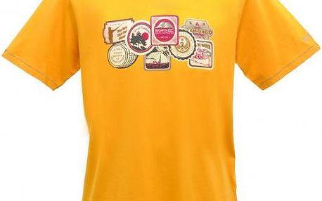Pánské tričko Regatta RMT092 ORION Golden Spice