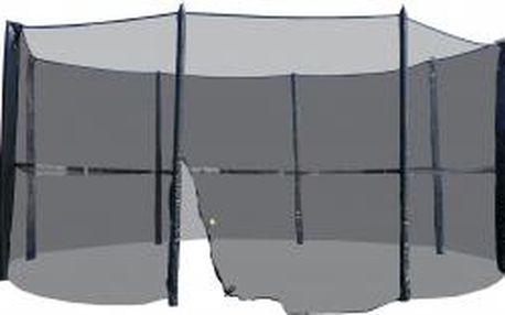Ochranná síť včetně tyčí k trampolíně | 183 - 490 cm