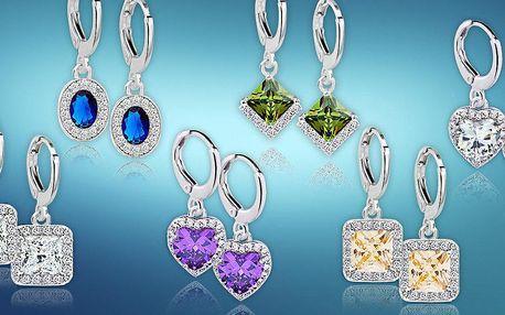 Krásné náušnice z kolekce Diamond Sparkle