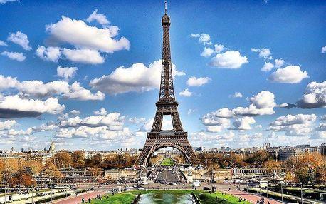 Zájezd do Remeše a Paříže s ubytováním a snídaní