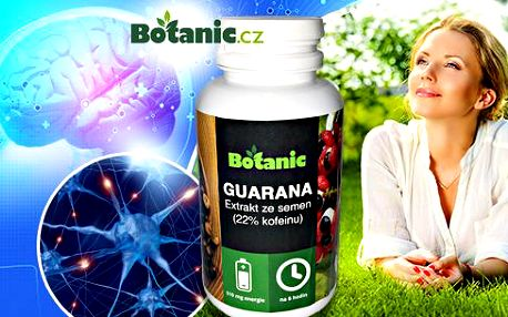 Guarana kapsle s 22% kofeinovým extraktem: maximum pro vaši paměť a koncentraci