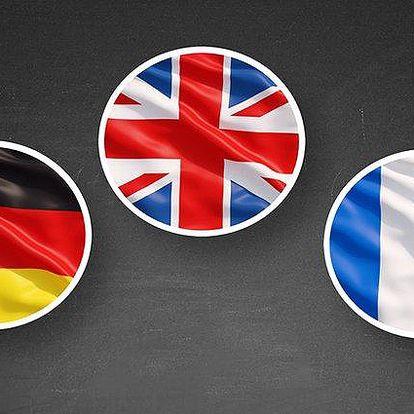 6 nebo 12měsíční online kurz angličtiny, němčiny či francouzštiny od Funmedia